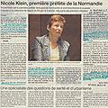 Première conférence de presse de nicole klein, notre nouvelle miss normandie