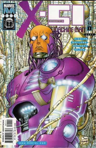 Marvel M-Tech avec X-51 et Deathlock