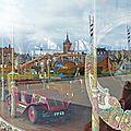 Reflets de Colmar dans le Carrousel 1900 place Rapp