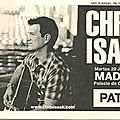 Chris isaak - mardi 29 juin 2010 - palacio de congresos (madrid)