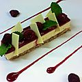 Cheese cake fruit rouge3