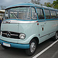 MERCEDES O319 minibus Kraichgau Spatz 1958 Speyer (1)