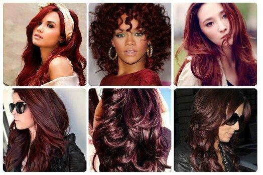 Couleur cheveux prune pour qui