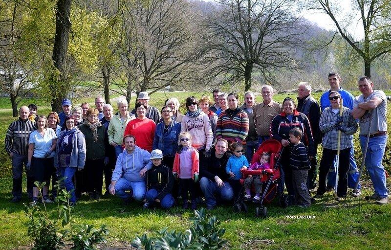 bénévoles jardin 2017