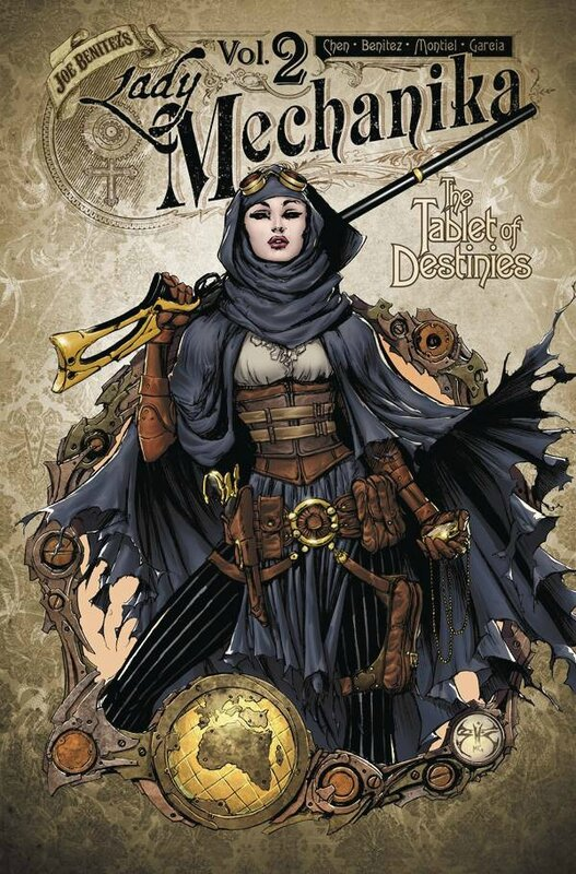 lady mechanika vol 2 the tablets of destinies TP