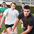 13-14, entraînement du 12 mars, école de rugby, cadets
