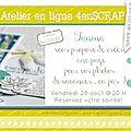 Apercu atelier en ligne 4enscrap
