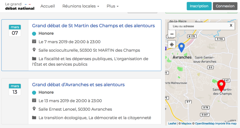 Grand Débat National_Avranches_Saint-Martin-des-Champs_carte_2019