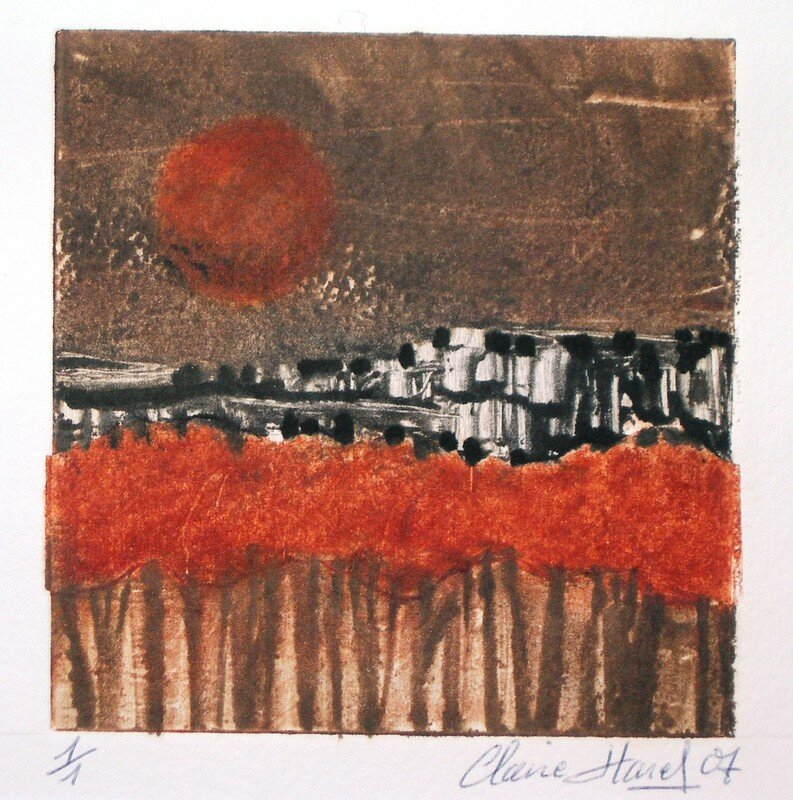 Harel Claire, monotypes (1)