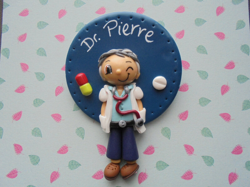 badge Dr pierre