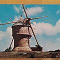 Guérande 2 - moulin du Crémeur ou moulin du diable datée 1964
