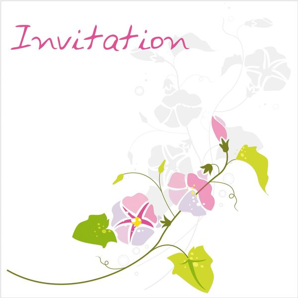 Invitation liseron