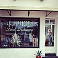 Le pop-up store d'hossegor...en images...