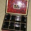 Intérieur boîte capsules nespresso