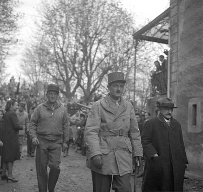 Leclerc a baccarat en 11 1944
