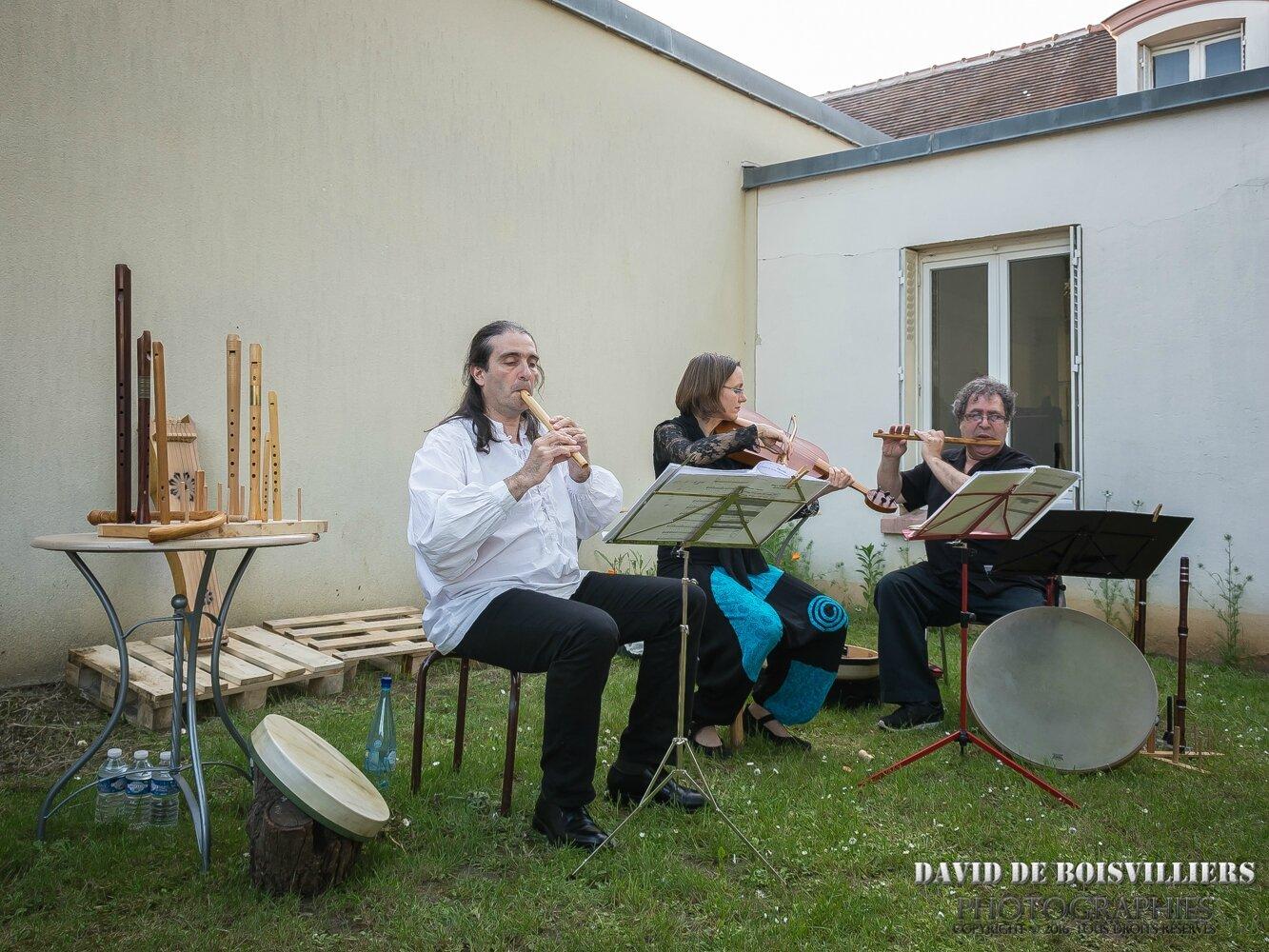 Spectacles-jardin à Morangis (91) : Musique médiévale (Ensemble Bella Donna)