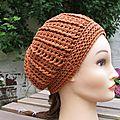 Crochet: bonnet mi saison
