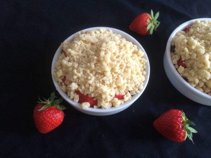 Crumble aux fraises (1)