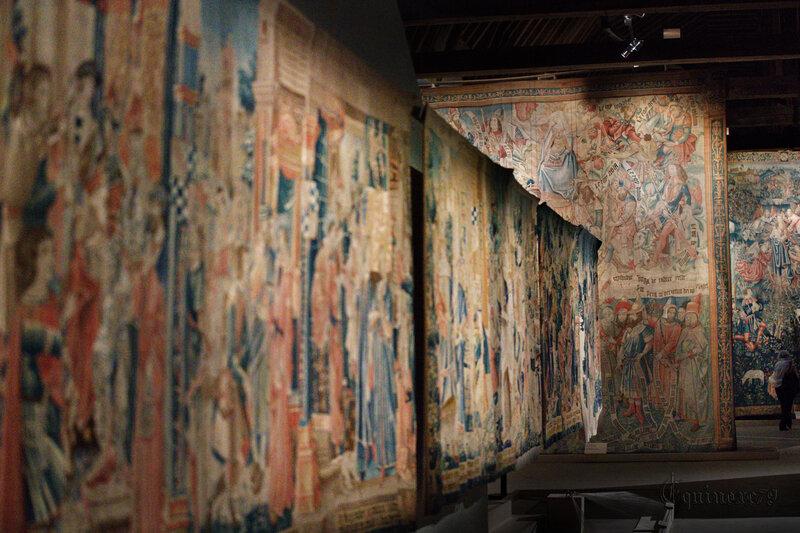 Parures de fête splendeurs des tapisseries de Saumur (2)