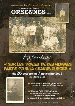 AfficheA4Expo14_18ORSENNES
