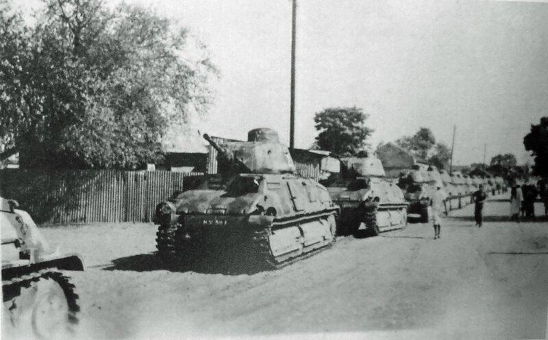 FDS LECLERC 3 SENEGAL 1 1943 route vers Dakar et la Tunisie