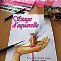 Stage d'aquarelle
