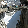 Aiguille du Midi : passerelle (74)