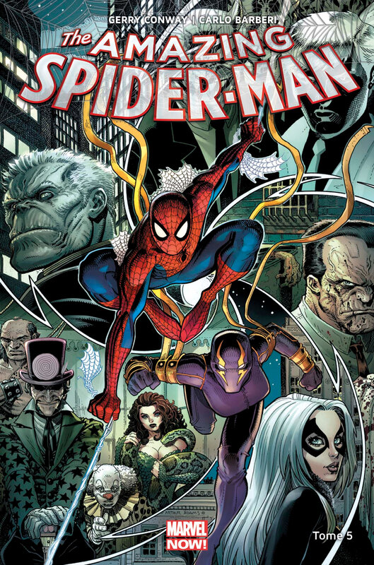 marvel now amazing spiderman 05 descente aux enfers