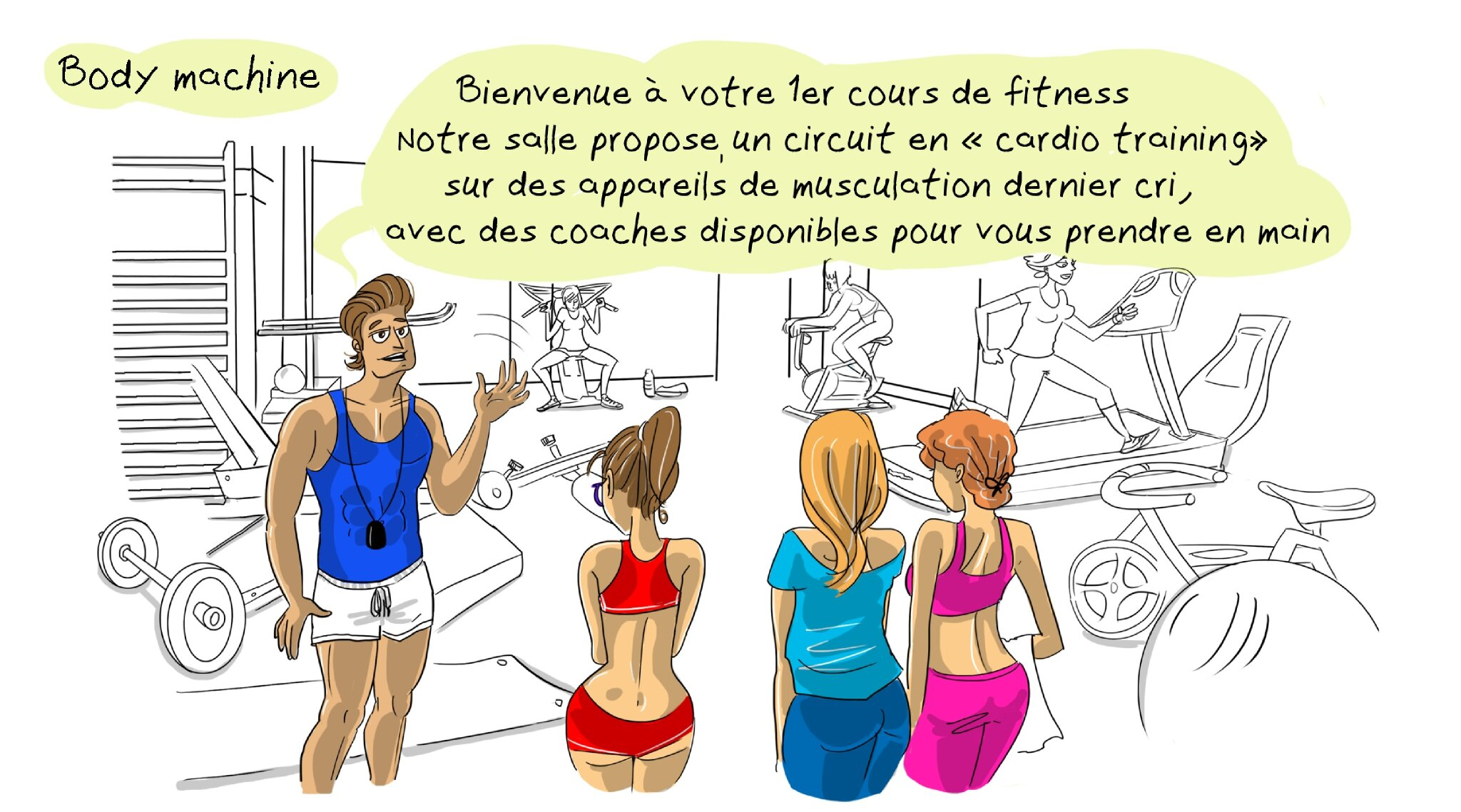 Body Machine Les Illustrations De Scarlatine