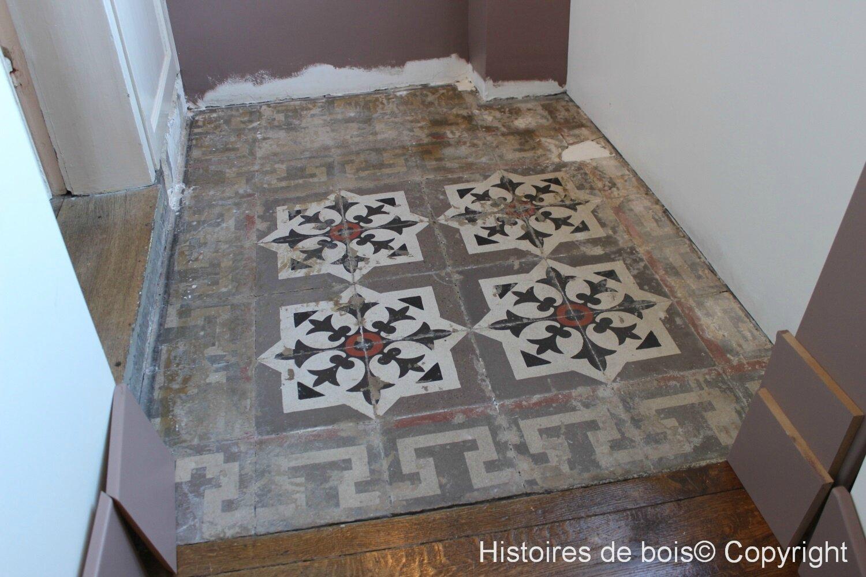 Entretien Carreaux Ciment Anciens rénovation de carreaux de ciment (1/1) - histoires de bois