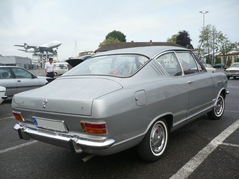 OPEL Kadett B L coupé Kiemen 1970 Speyer (2)