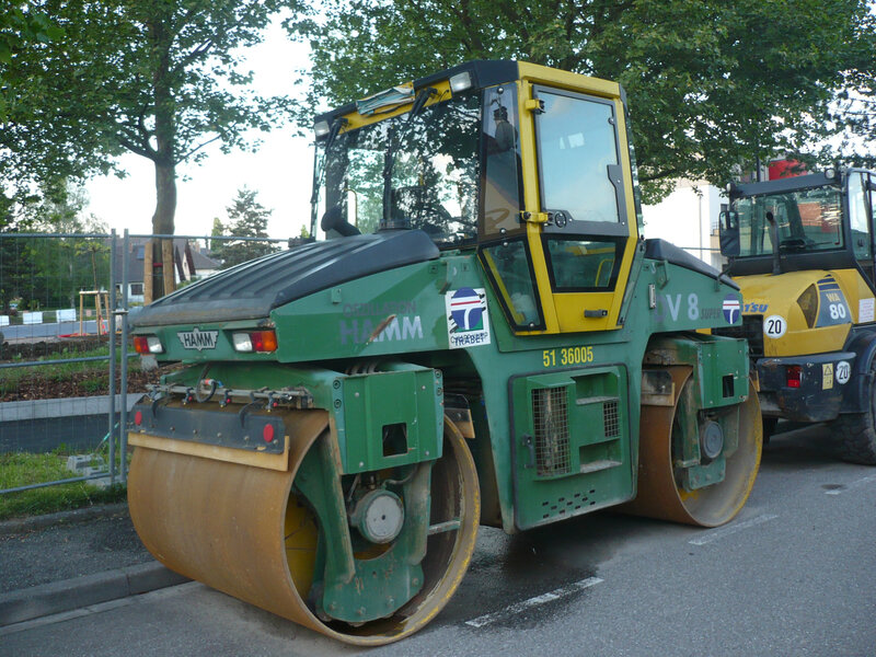 HAMM DV8 Super rouleau compresseur Lampertheim (2)
