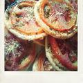 Tartelettes fines à la tomate