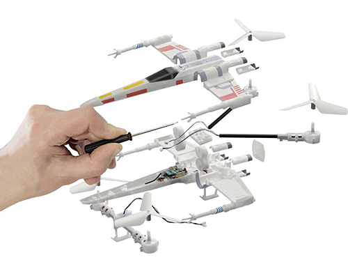 x-wing drone revell montage