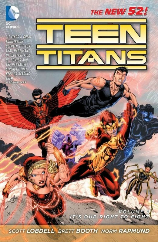 teen titans vol 1 it's our right to fight TP