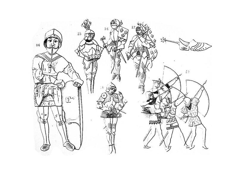 Costume Militaire des (Chevaliers) Français en 1446 / René de Belleval