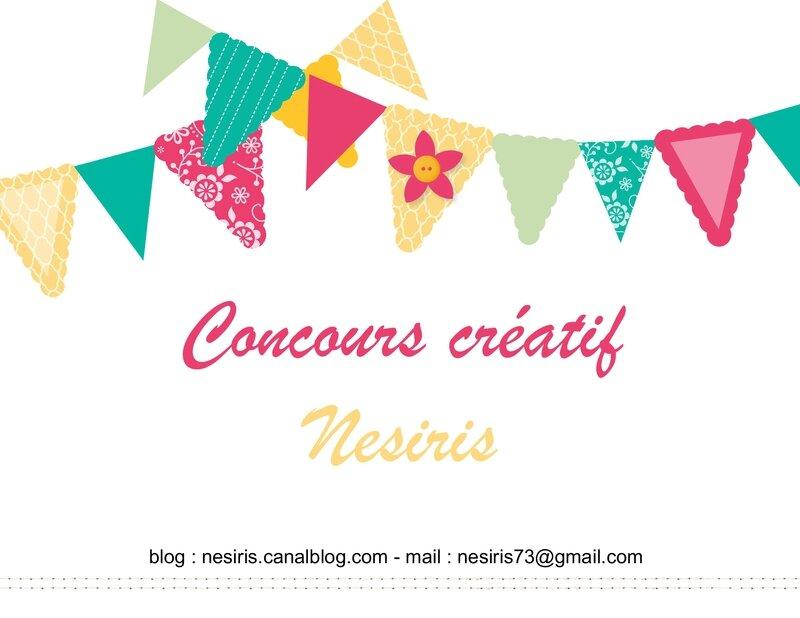 Concours créatif Nesiris