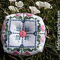 Biscornus de printemps