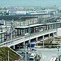 Ceva / léman express : une première gare et des essais