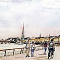 Bordeaux 2019 aquarelle Orton