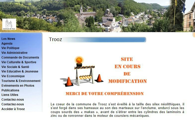 Capture - site Commune de Trooz
