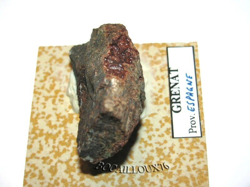 GRENAT Almandin S207 - Espagne (4)