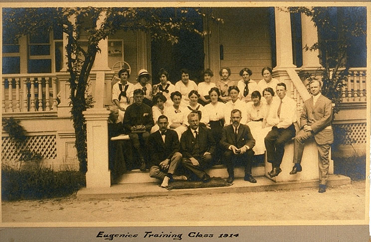 Cold Spring Harbor Eugenic Archives_ Eugenics Record Office, Field Worker Training Class of 1914 (D