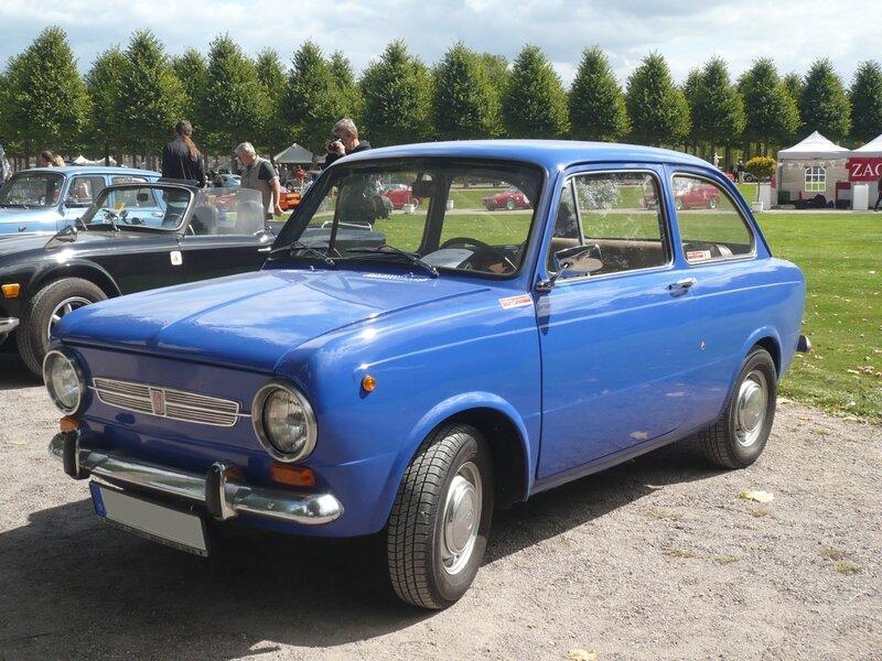 FIAT 850N berline 1969 Schwetzingen (1)
