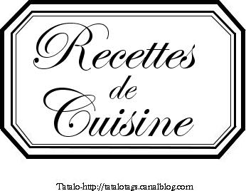 tatalo recettes de cuisine sans le logo