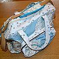 Un sac à langer, pour un futur bébé....