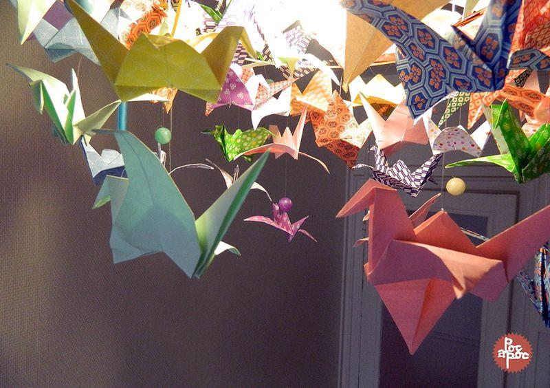 PocCréations DiyMon A Origamis En Nouveau Lustre Poc Textiles Tout thQCrdxsB