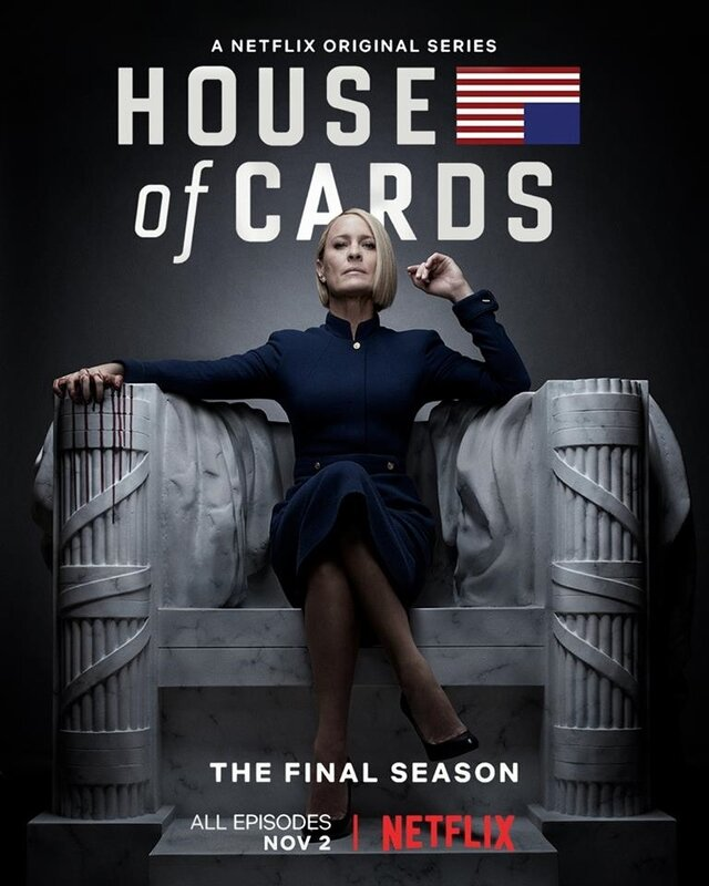 House-of-Cards-saison-6 poster