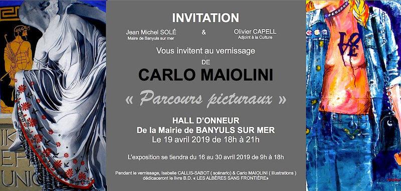 vernissage Carlo Maiolini