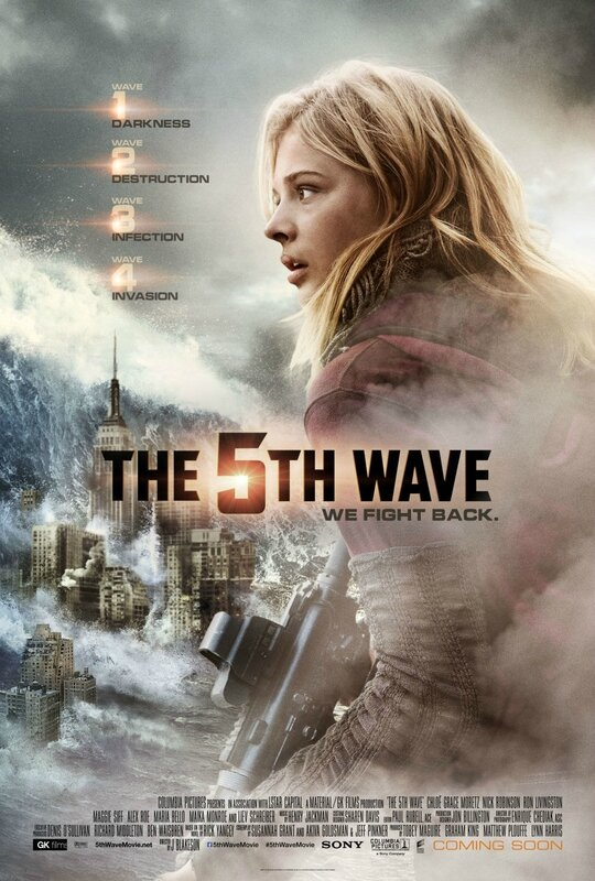 The 5th Wave - International movie poster